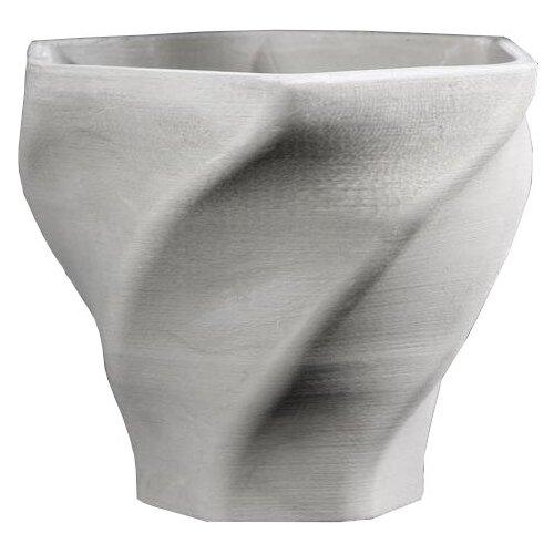 Кашпо Дарите счастье Феерия 15 х 14 см серый кашпо дарите счастье фантазия 15 х 14 см белый