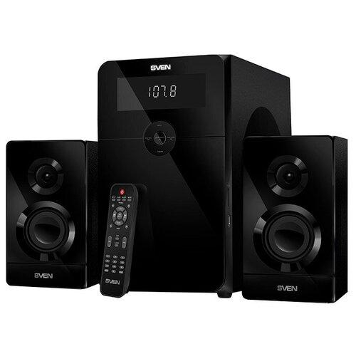 Компьютерная акустика SVEN MS-2250 черный портативная акустика sven ps 68 черный
