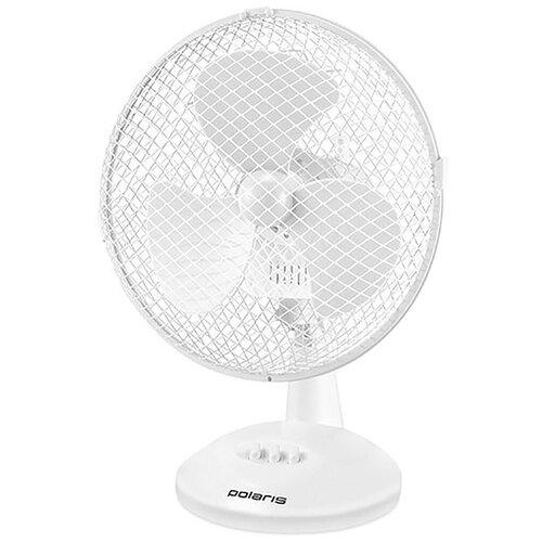 Настольный вентилятор Polaris PDF 1023G, белый