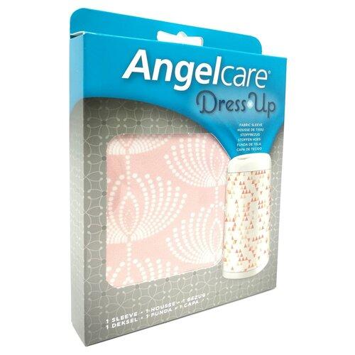 Чехол для накопителя подгузников Dress Up AngelCare розовый/цветы, Накопители подгузников  - купить со скидкой