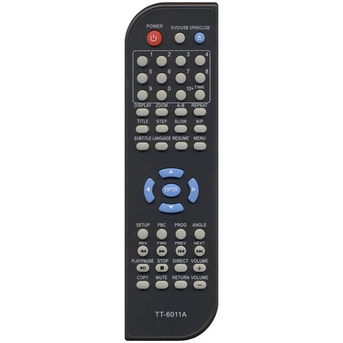 Фото - Пульт Huayu H-DVD5028 (Soundmax TT-6011A) для dvd-плеера Hyundai пульт ду hyundai h dvd5028 soundmax tt6011a dvd