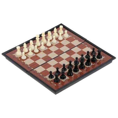 Фото - Настольная игра Магнитные шахматы Играем вместе настольная игра играем вместе лягушки