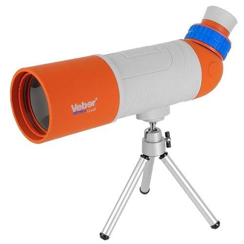 Фото - Зрительная труба Veber Эврика 12x60 серый/оранжевый зрительная труба veber snipe super 20 60x80 gr zoom