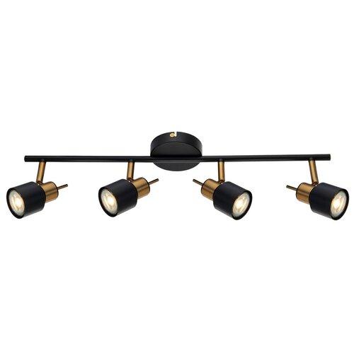 Спот Arte Lamp Almach A1906PL-4BK