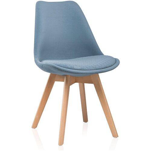 Фото - Деревянный стул Woodville Bonuss light blue стул деревянный woodville demer cappuccino
