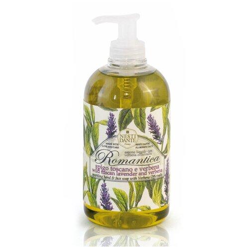 Купить Мыло жидкое Nesti Dante Romantica Wild Tuscan Lavender and Verbena, 500 мл