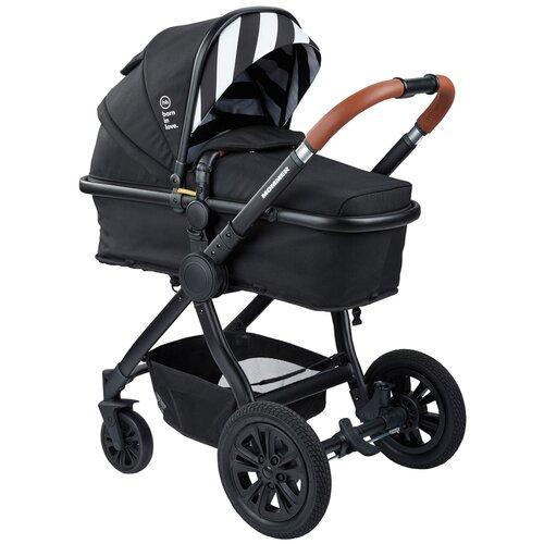 Коляска-трансформер Happy Baby Mommer, black happy baby коляска трость happy baby twiggy green