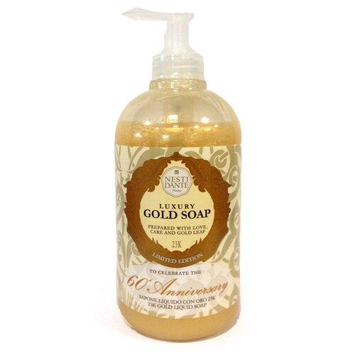 Мыло жидкое Nesti Dante Luxury Gold, 500 мл жидкое мыло nesti dante философия коллаген 500 мл