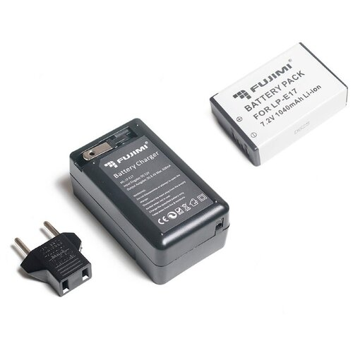 Фото - Fujimi LP-E17 + ЗУ Аккумулятор для фото и видео камер в комплекте с ЗУ fujimi lp e17 зу аккумулятор для фото и видео камер в комплекте с зу
