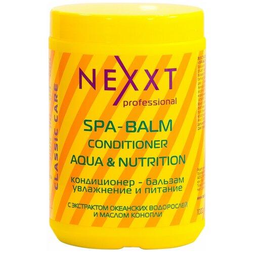 Фото - Nexprof кондиционер-бальзам для волос Classic care увлажнение и питание, 1000 мл nexprof кондиционер classic care volume для объема волос 200 мл