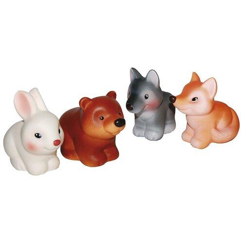 Купить Набор для ванной ОГОНЁК Лесные звери (С-1193) разноцветный, Игрушки для ванной
