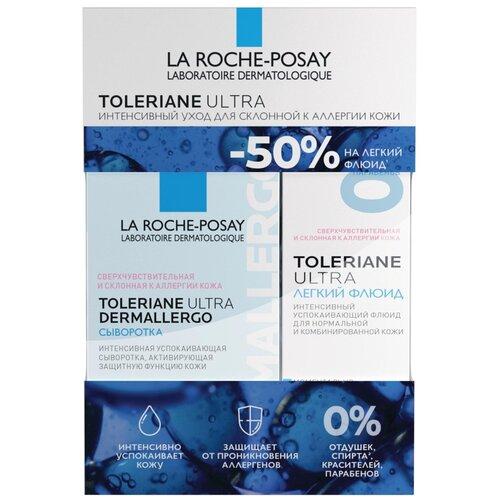 Купить Набор LA ROCHE POSAY Толеран Ультра Дермаллерго сыворотка 20 мл + Толеран Ультра Легкий Флюид 40 мл, La Roche-Posay