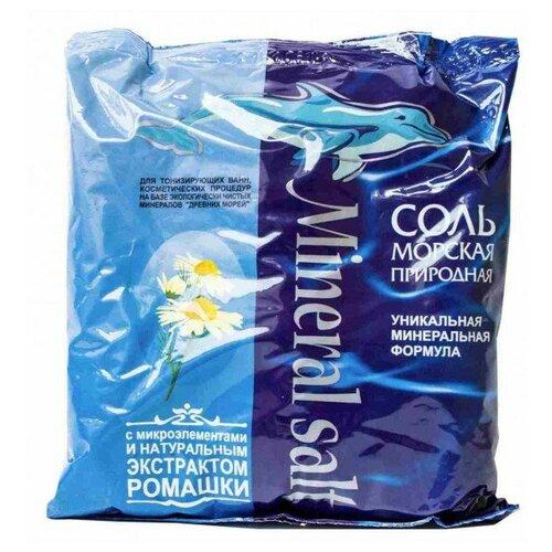 ГринПром Соль морская природная с Экстрактом Ромашки, 1 кг