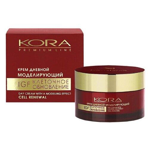 Купить Крем Kora Premium Line дневной моделирующий IGF клеточное обновление, 50 мл