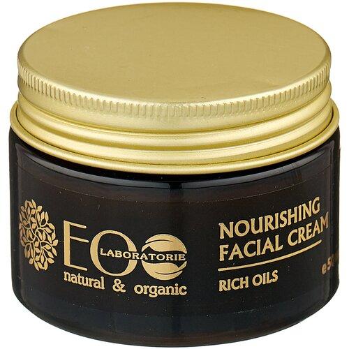 Фото - ECO Laboratorie Питательный крем для лица Роскошь масел, 50 мл eco laboratorie бальзам питательный для слабых и секущихся волос 200 мл