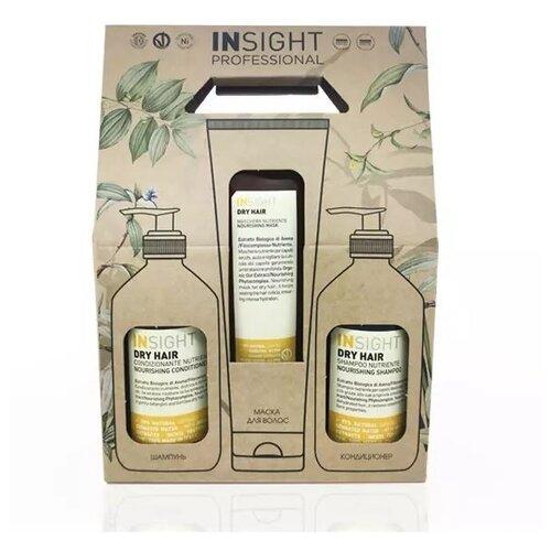 Набор Insight Dry Hair insight серебристое кольцо never ever insight