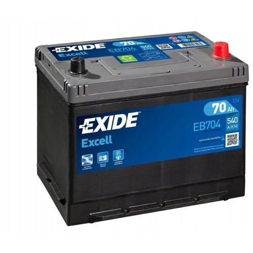 Автомобильный аккумулятор Exide Excell EB704