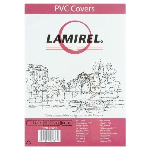 Фото - Обложки 100шт Lamirel Transparent A4, PVC, прозрачные, 200мкм 1097681 обложки 100 шт lamirel transparent a4 pvc синие 150мкм la 78780 4677029