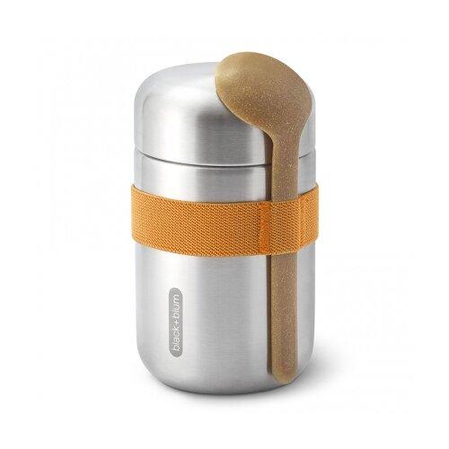 Термос для еды Food Flask B, 400 мл, оранжевый