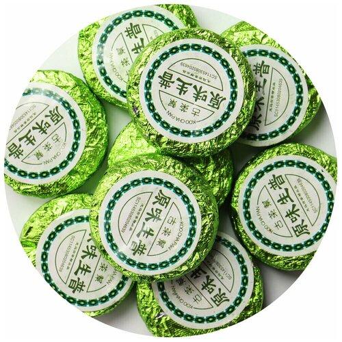 Фото - Чай Пуэр Шен Зеленая медалька, 500 г чай пуэр шен белый дикий кат в 500 г