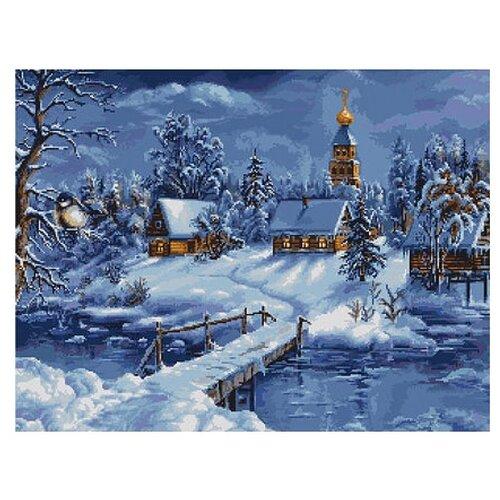 Купить Набор для вышивания «Зимний пейзаж», 45 x34 см, Luca-S, Наборы для вышивания