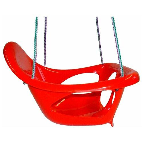 Фото - Karolina toys Качели подвесные цельные, красный качели orion toys подвесные ор757в2