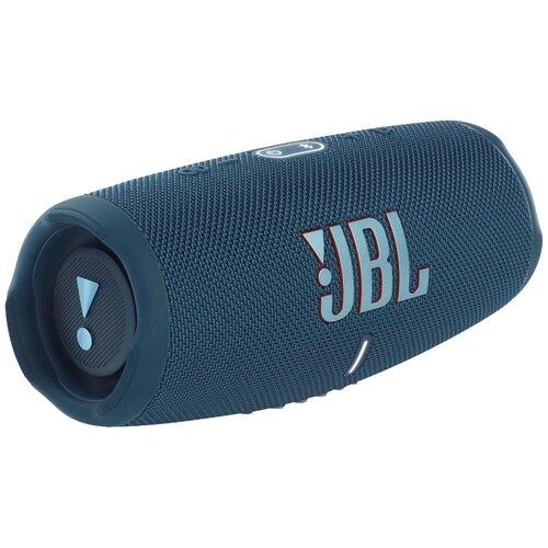 Портативная акустика JBL Charge 5, 40 Вт, синий
