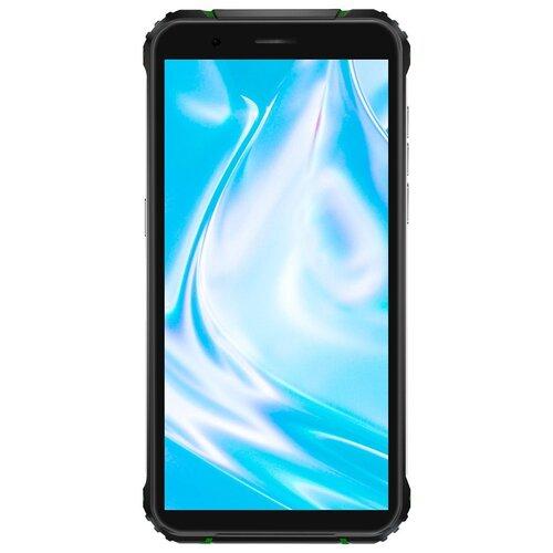 Смартфон Blackview BV5100 4/128GB черный/зеленый