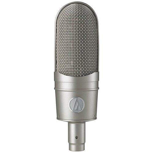 Микрофон Audio-Technica AT4080, серебристый