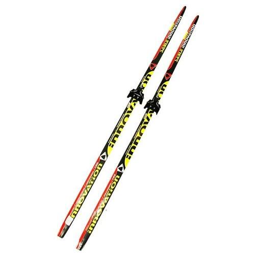 Лыжный комплект (лыжи + крепления) 75 мм 190 СТЕП Sable Innovation