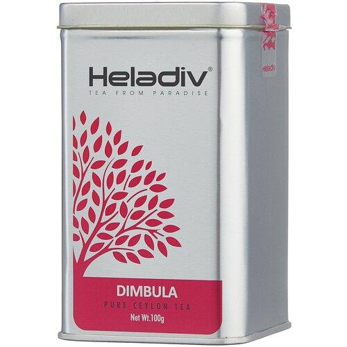 Фото - Чай черный Heladiv Dimbula, 100 г чай черный heladiv hd rasberry 100 gr round p t