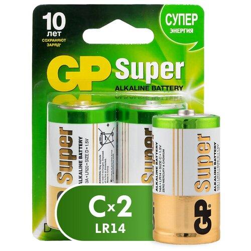 Фото - Батарейка GP Super Alkaline C, 2 шт. super