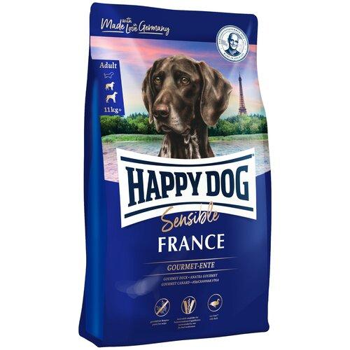 Сухой корм для собак Happy Dog при аллергии, утка, с картофелем 2.8 кг