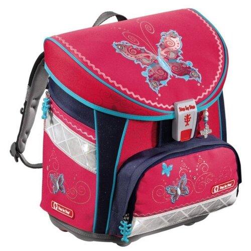 Купить Step By Step Ранец Butterfly Dancer Light (129335), розовый/синий, Рюкзаки, ранцы