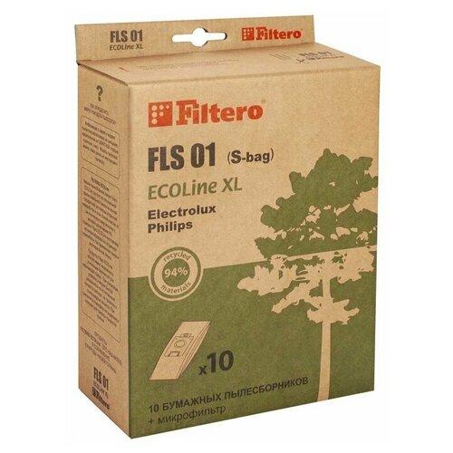 Filtero Мешки-пылесборники Filtero FLS 01 (S-bag) ECOLine бежевый 10 шт.