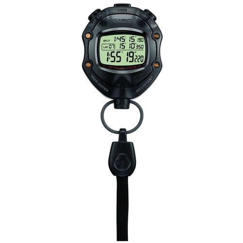 Электронный секундомер CASIO HS-80TW-1E черный casio часы casio hs 80tw 1e коллекция digital