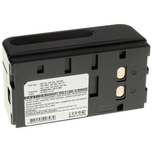 Аккумулятор iBatt iB-U1-F381 4200mAh для Sony CCD-FX280E, CCD-TR330E, CCD-TR620E, CCD-FX200E, CCD-TR380E, CCD-TR440E, CCD-TR502E, CCD-F340, CCD-TR506E, CCD-TR420E, CCD-TRV24E, CCD-TR580E, CCD-TR202E, CCD-TR490E,