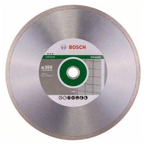 Фото - Диск алмазный отрезной BOSCH Best for Ceramic 2608602640, 350 мм 1 шт. диск алмазный отрезной bosch standard for ceramic 2608602201 115 мм 1 шт