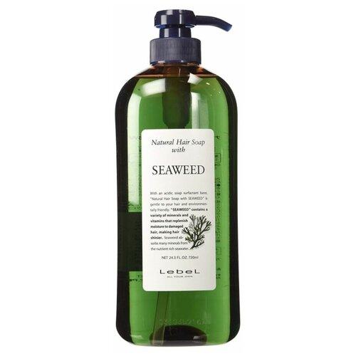 шампунь с экстрактом морских водорослей natural hair soap with seaweed шампунь 240мл Lebel Natural Hair Soap Treatment Seaweed - Шампунь с морскими водорослями 1000 мл