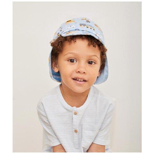 Купить Бейсболка для мальчика Kotik МС-1005, размер 50-52, голубой, Головные уборы