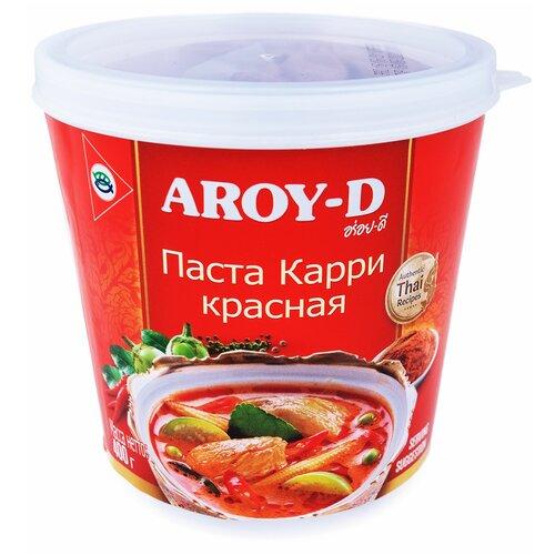 Aroy-D Паста Карри красная 400 г паста чили с соевым маслом aroy d 260 г