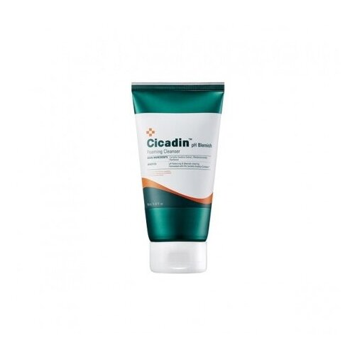 Очищающая пенка с центеллой для лица MISSHA Cicadin pH Blemish Foaming Cleanser 150 мл