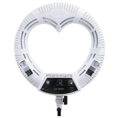 Фото - Кольцевая лампа OKIRA LED RING LV 480 S — Белый лампа кольцевая veila led ring fill light 3436