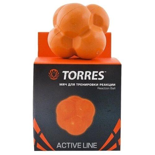 мяч для развития реакции sklz reaction ball Тренажер для улучшения скорости реакции TORRES Reaction ball оранжевый