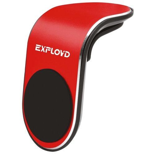 Автодержатель магнитный в воздуховод Exployd Classic Red