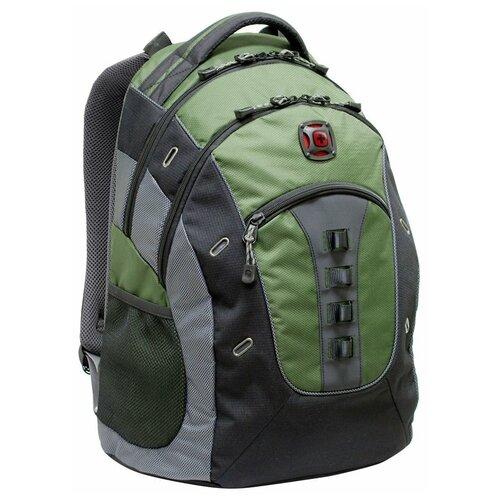 рюкзаки wenger 3001932408 Рюкзак WENGER Городской рюкзак WENGER Granite 27335070 зеленый 27 л зеленый