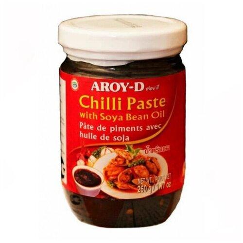 Паста чили с соевым маслом Aroy-D, 260 г паста чили с соевым маслом aroy d 260 г