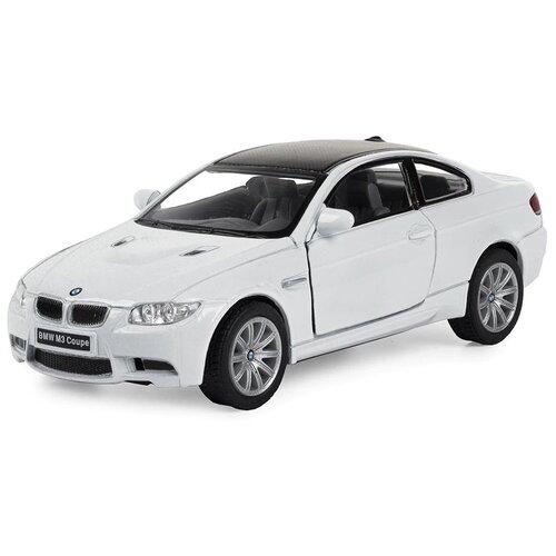Купить Легковой автомобиль Serinity Toys BMW M3 Coupe (5348DKT) 1:36, 12.5 см, белый, Машинки и техника