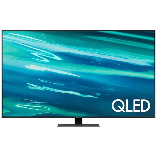 Фото - Телевизор QLED Samsung QE75Q80AAU 75 (2021), черный телевизор samsung ue50au7100u 49 5 2021 черный