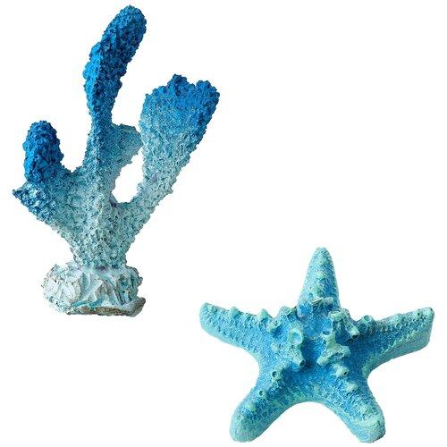 Декорации для оформления аквариума Marvelous Aqva, набор N-39
